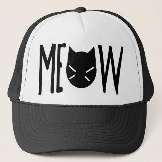 Boné Meow - citações com cabeça de um gato