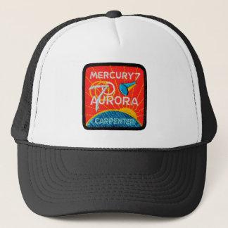 Boné Mercury 7: Aurora 7 - Carpinteiro de Scott
