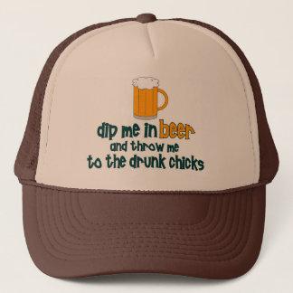 Boné Mergulhe-me na cerveja .......