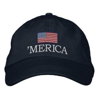 Boné Merica - com bandeira dos EUA