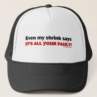 Boné Mesmo meu psiquiatra diz que é toda sua falha!