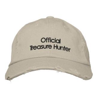 Boné Metal bordado que detecta o chapéu