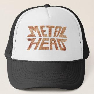 Boné MetalHead oxidado