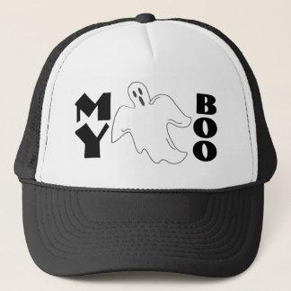 Boné Meu chapéu assustador do Dia das Bruxas engraçado