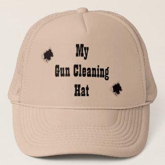 Boné Meu chapéu da limpeza da arma!