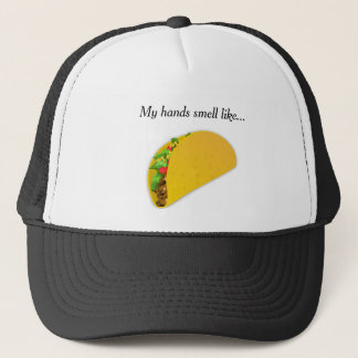 Boné Meu cheiro das mãos gosta do tacos