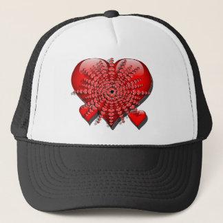 Boné Meu coração explode 4 U - chapéu