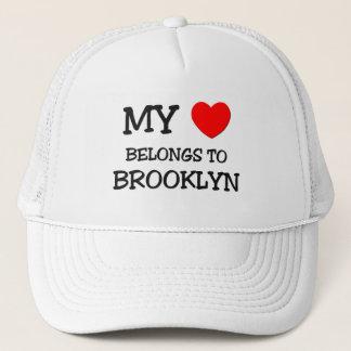 Boné Meu coração pertence a BROOKLYN