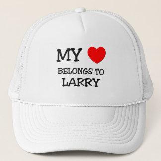 Boné Meu coração pertence a Larry