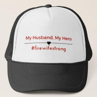 Boné Meu marido, meu chapéu do herói