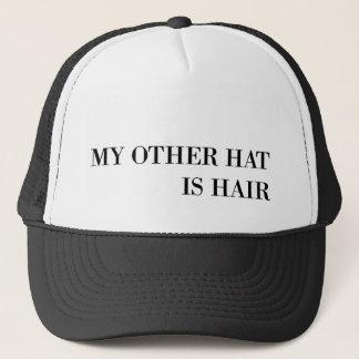 Boné Meu outro chapéu é cabelo