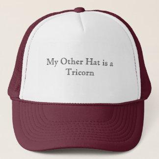 Boné Meu outro chapéu é um Tricorn