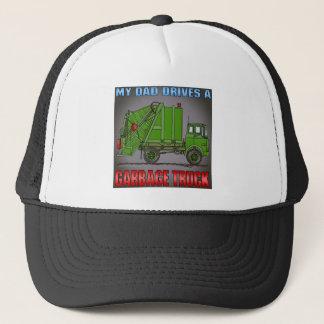 Boné Meu pai conduz um chapéu do verde do caminhão de