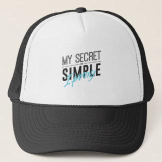 Boné Meu segredo é simples mim Pray