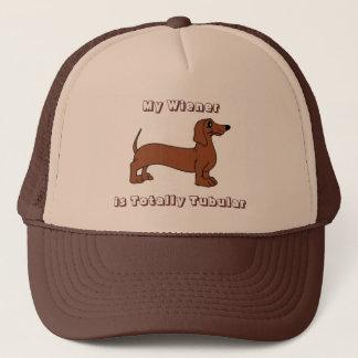 Boné Meu Wiener é chapéu retro totalmente tubular do