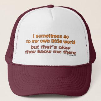 Boné Meus próprios chapéus pequenos do mundo