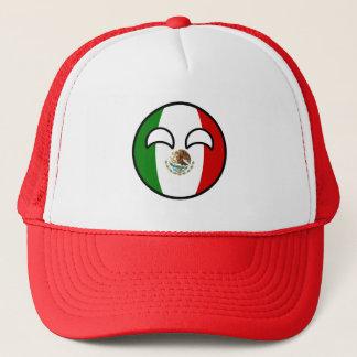 Boné México Geeky de tensão engraçado Countryball