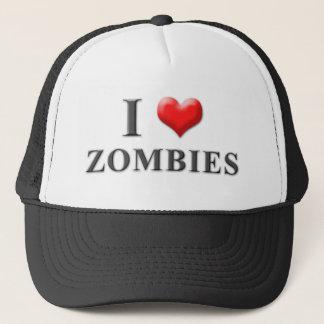 Boné Mim chapéu 001 dos zombis do coração