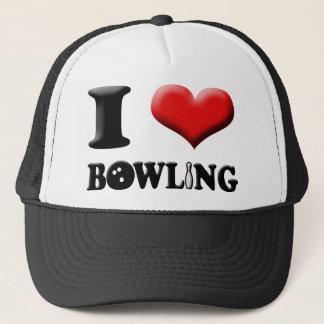 Boné Mim chapéu da boliche do coração