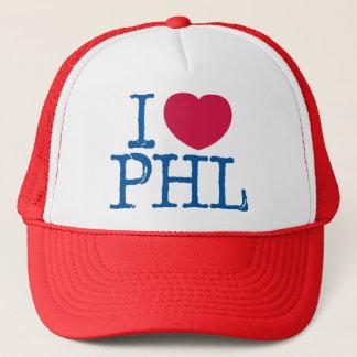 Boné MIM chapéu da camisa de <3 PHL (vermelha/azul)