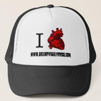 Boné mim chapéu do camionista de