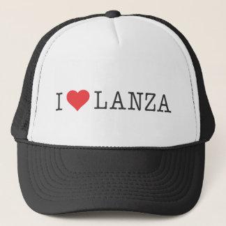 Boné Mim chapéu do camionista de Lanza do coração