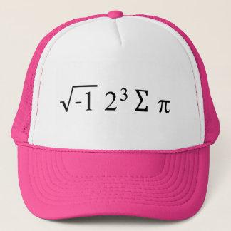 Boné mim chapéu do humor da matemática de 8 pi da soma