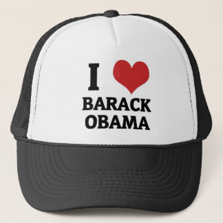 Boné Mim coração Barack Obama