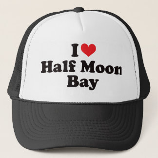 Boné Mim coração Half Moon Bay