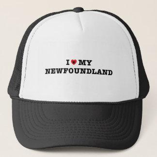 Boné Mim coração meu chapéu do camionista de Terra Nova