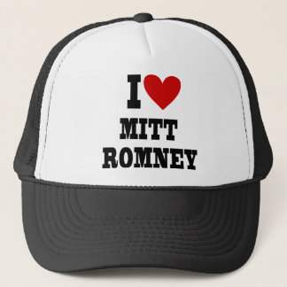 Boné mim coração Mitt Romney