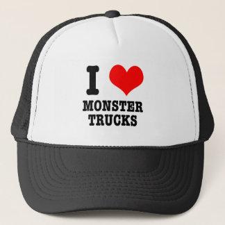 Boné MIM monster truck do CORAÇÃO (AMOR)