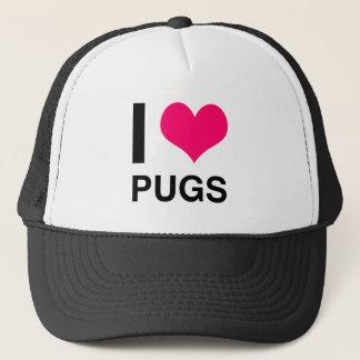 Boné Mim Pugs do coração