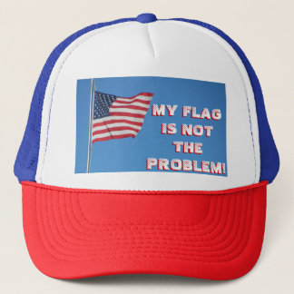 Boné Minha bandeira não é o problema! Bandeira