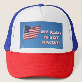 Boné Minha bandeira não é racista! Bandeira americana