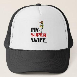 Boné minha esposa super