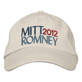 Boné Mitt Romney em 2012