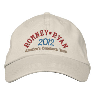 Boné Mitt Romney Paul Ryan 2012