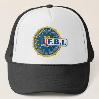 Boné Modelo do selo do FBI