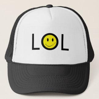 Boné Modificação LOL de Texting do ~ do chapéu com