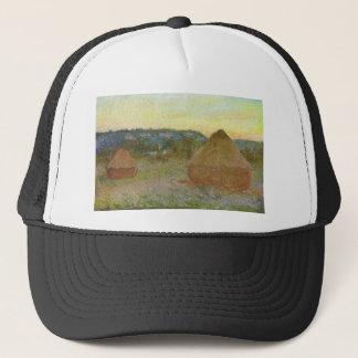 Boné Monet - pintura clássica de Wheatstacks