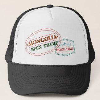 Boné Mongolia feito lá isso