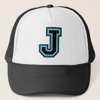 "Boné Monograma da letra ""J"""