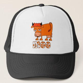 Boné MOO - Vaca do gengibre