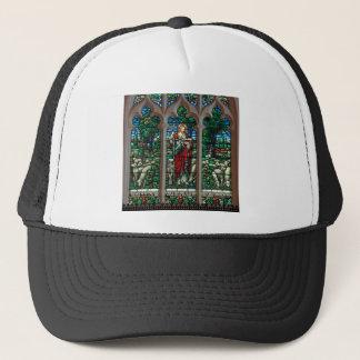 Boné Mosaico do salvador do pastor de Jesus bom