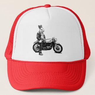 Boné Motociclista do coelho