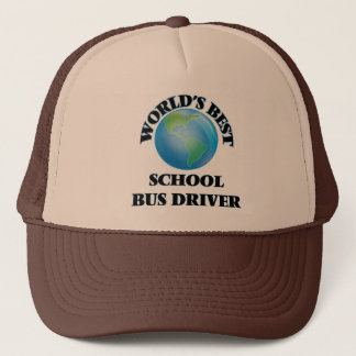 Boné Motorista de auto escolar do mundo o melhor