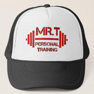 Boné Mr.T Red Hat de formação pessoal