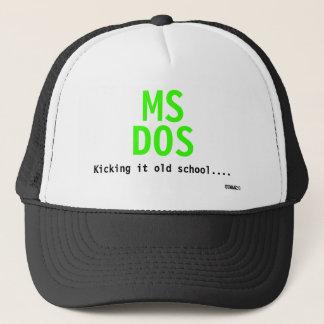 Boné MS, DOS, retrocedendo o velha escola…., Iceman2.0