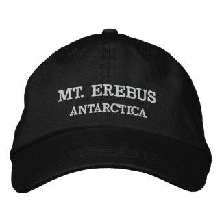 Boné Mt. Erebus, chapéu ajustável da Antártica